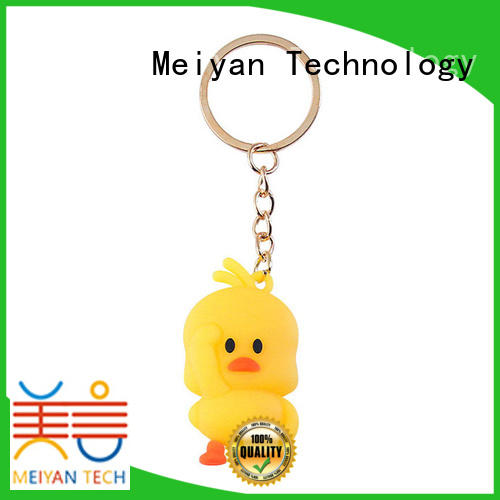 Meiyan pvc customized keyring supplier for parent-child games