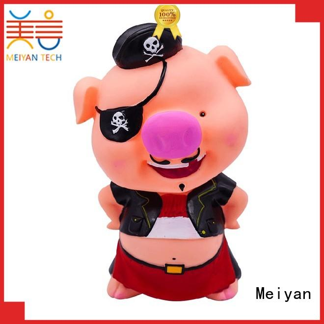 Meiyan plastic piggy banks for boys factory price for home furnishings