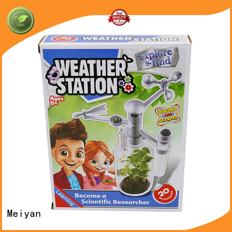 Meiyan durable science kit customized for for parent-child games