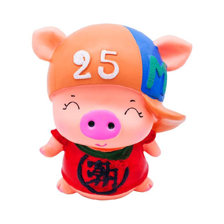 Custom Piggy Banks Wholesale Cute Pig shape Pvc Plastic Piggy Money Bank For Kids