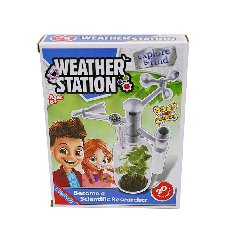 Discovery Science Kits education series DIY Weather Station Toys For Kids