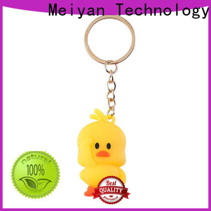 Meiyan personalized custom personalized plastic keychains supplier for kids
