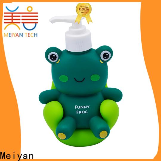 Meiyan shampoo bottle factory for home decor