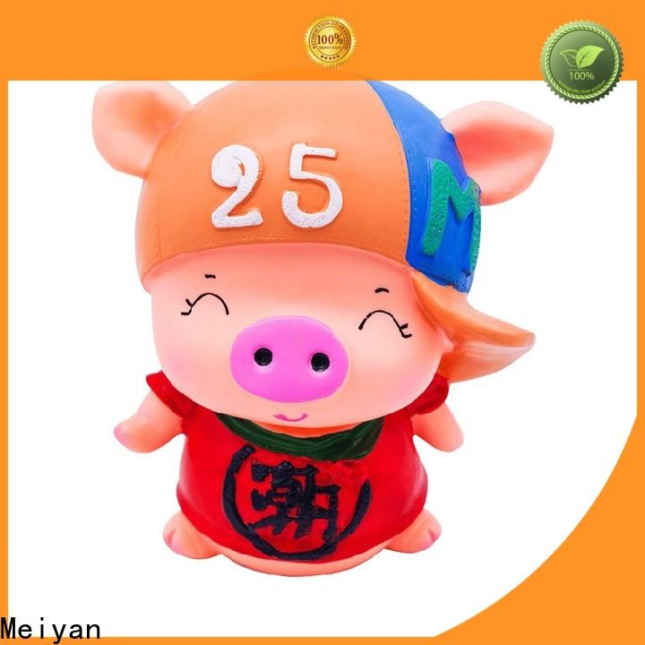 Meiyan vivid piggy banks for boys customized design for gifts