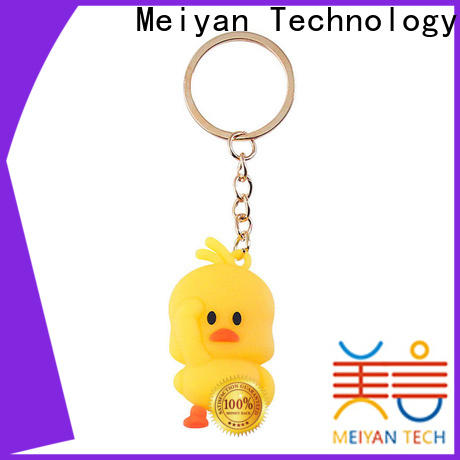 Meiyan personalized plastic keychains customized for gifts