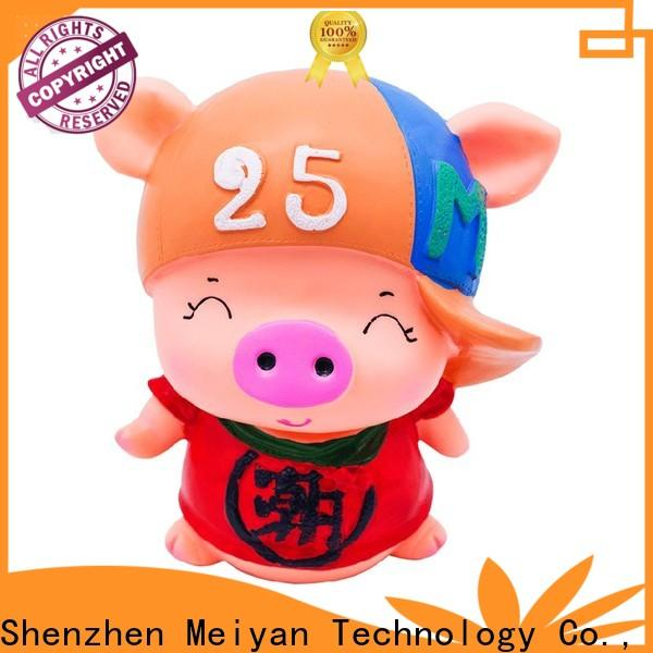 Meiyan cute piggy banks for boys supplier for home furnishings