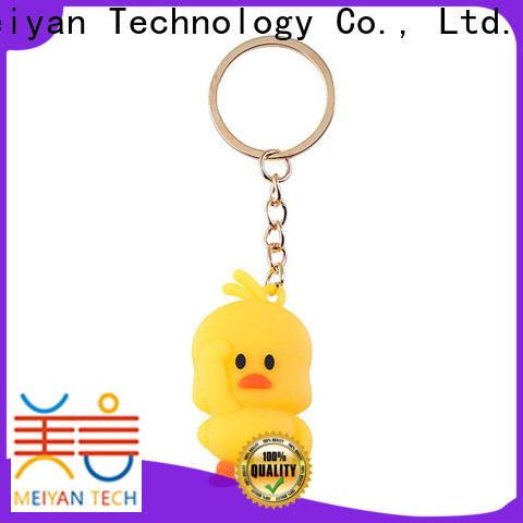 Meiyan personalized plastic keychains customized for kids