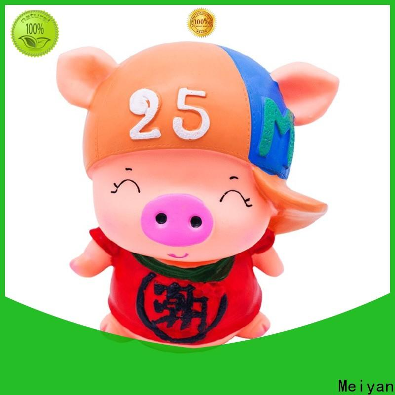 Meiyan plastic piggy banks customized design for bedrooms