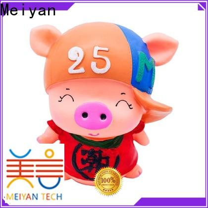 Meiyan vivid unbreakable piggy bank factory price for bedrooms