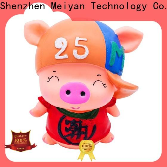 Meiyan unbreakable piggy bank manufacturer for gifts