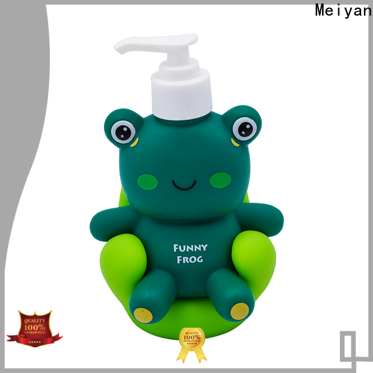 Meiyan personalized shampoo bottle factory for home-use