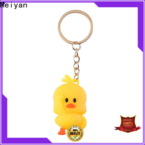 Meiyan adorable personalised keychains directly sale for kids
