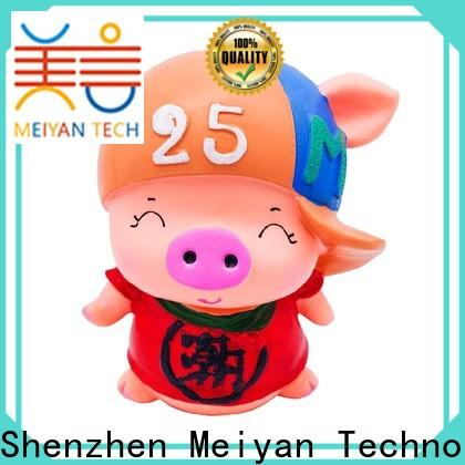 Meiyan comfortable plastic piggy banks safety for gifts
