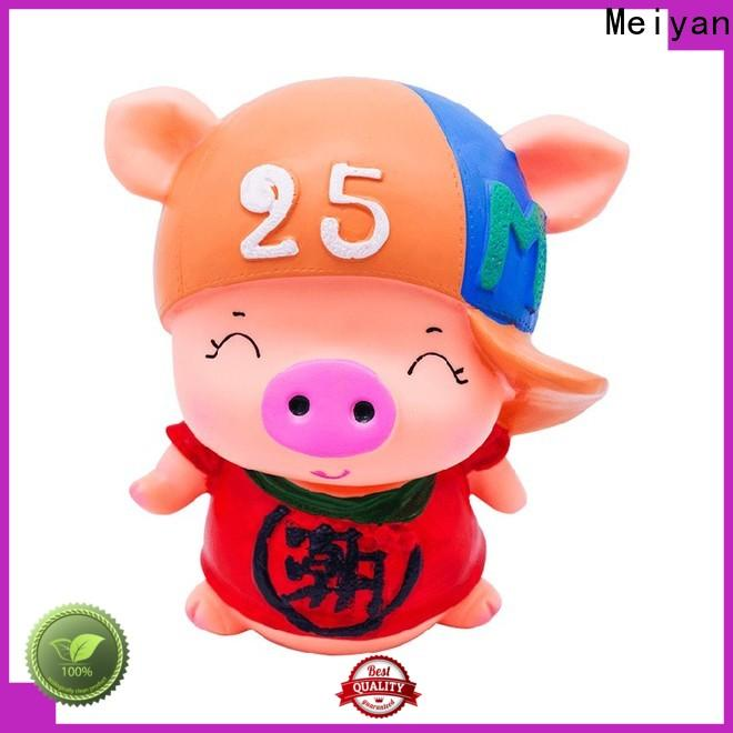 Meiyan plastic plastic piggy banks bulk supplier for bedrooms