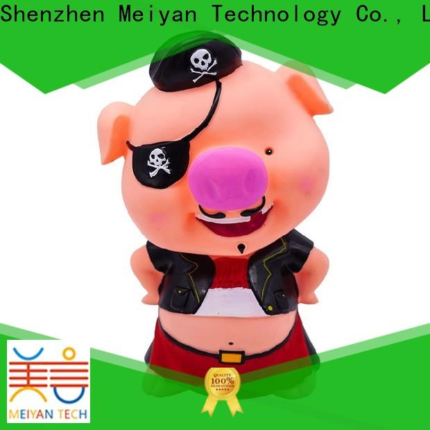 cute plastic piggy banks factory price for home furnishings
