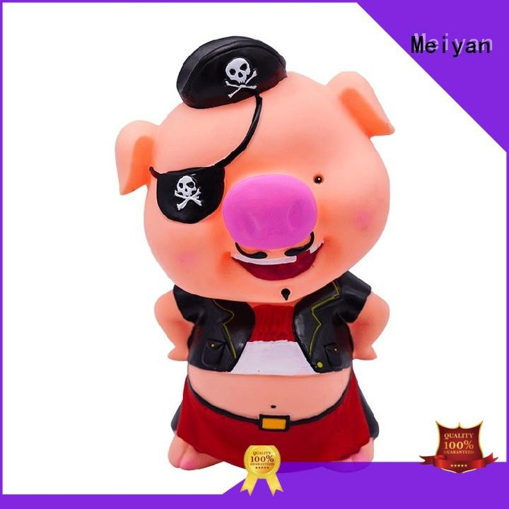 Meiyan funny plastic piggy banks supplier for gifts
