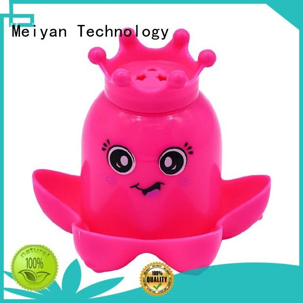 Meiyan vivid animal bath toys customized design for home furnishings