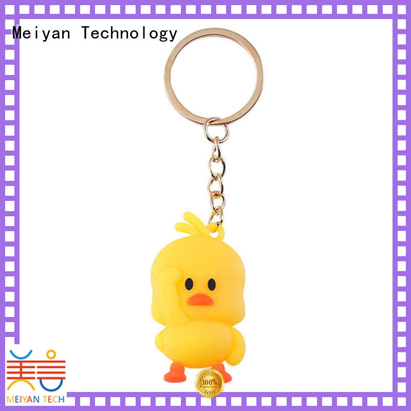 Meiyan personalized plastic keychains wholesale for parent-child games