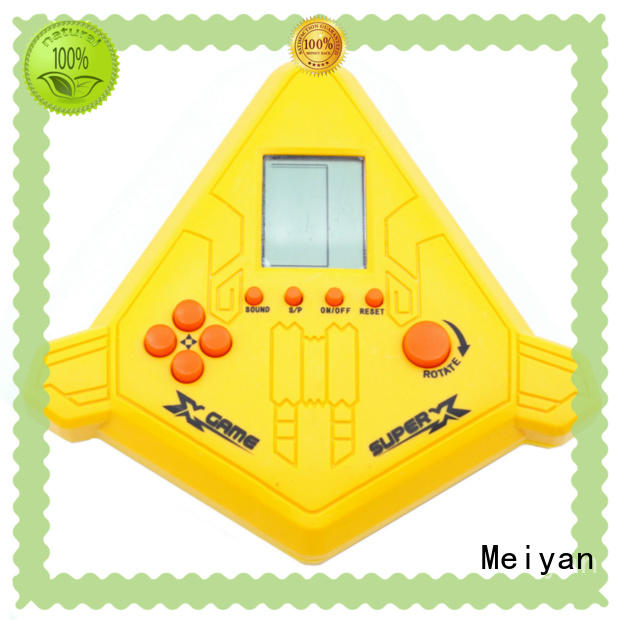 Meiyan plastic custom game console supplier for kids