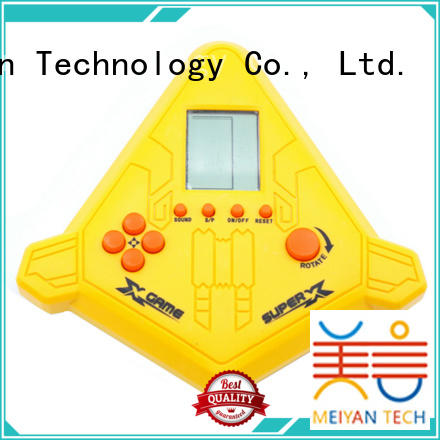Meiyan safety handheld game console directly sale for kids