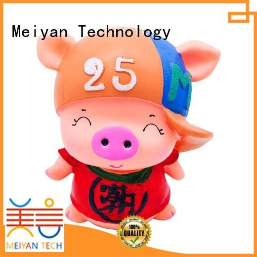Meiyan personalized piggy banks customized design for bedrooms