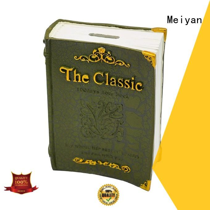 pvc design personalized piggy banks book shape for bedrooms Meiyan