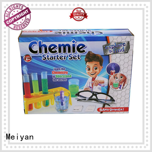 Meiyan easy-to-do science lab toys factory price for kids