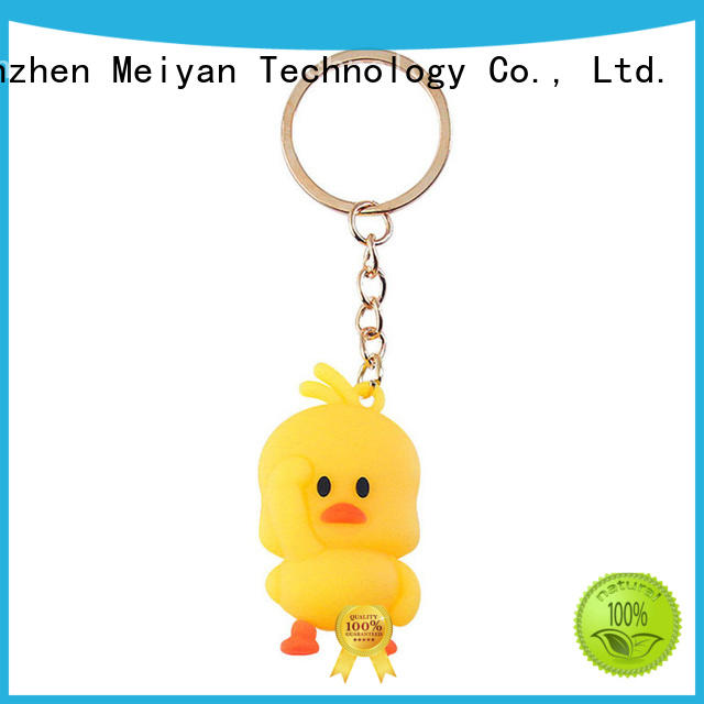 Meiyan personalized plastic keychains manufacturer for promotional activities