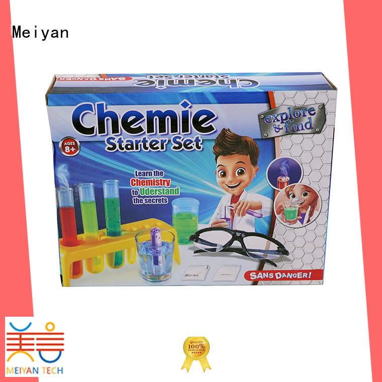 Meiyan discovery science kits design for students
