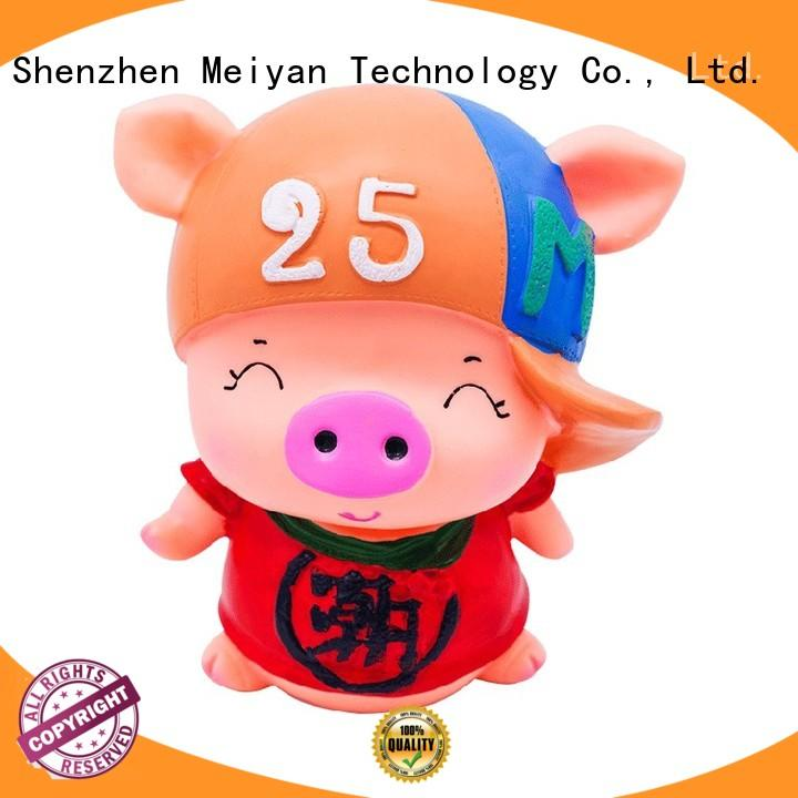 Meiyan funny unbreakable coin bank for gifts