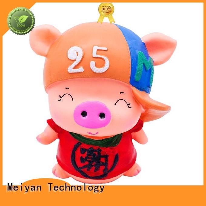 Meiyan custom piggy banks customized design for bedrooms