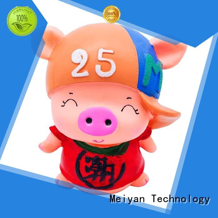 plastic rubber bath toys animal for gifts Meiyan
