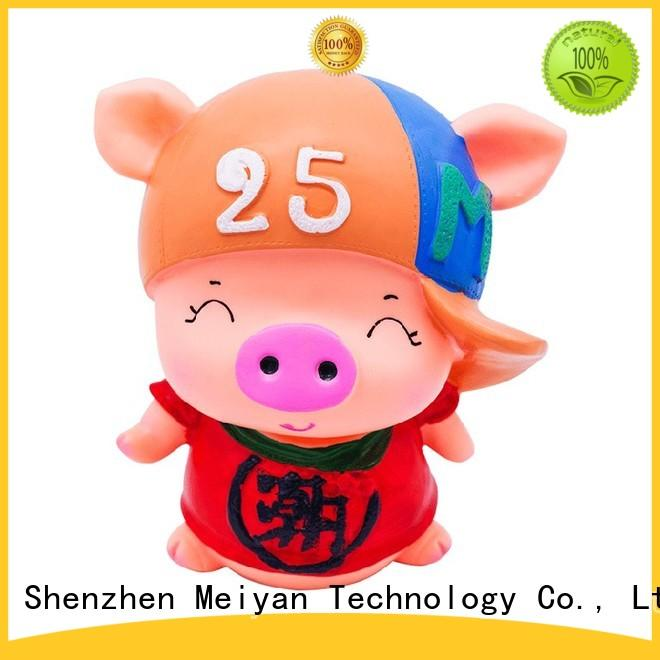 Meiyan comfortable vinyl toys factory price for gifts