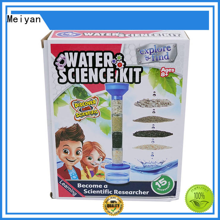 low cost childrens science kit customized for for parent-child games